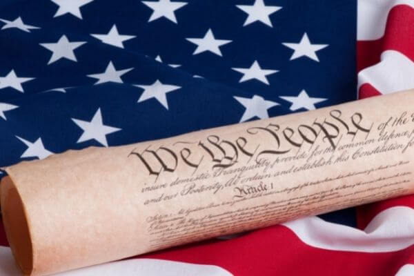 How Do the Constitutions of the United States and the State of Texas Address Eminent Domain Powers?